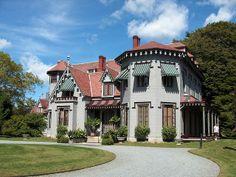 Newport RI mansions   Kingscote Mansion in Newport, Rhode Island