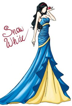 FAIRY TALE GIRLS PROJECT: Snow White by WeleScarlett.deviantart.com on @deviantART