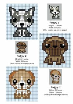 Hama beads idea puppy