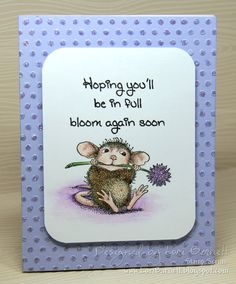 Project designed by Lori Barnett. Stamps from by House-Mouse - Mudpie Munch and Whipper Snapper Designs Inc. - Bloom Again Soon