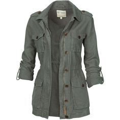 Fat Face Linen Military Jacket