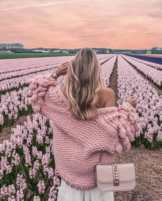 "The world's famous authentic ""Warm Up"" cardigan! No specific introductions needed. Unique designed, bubble sleeves and relaxed Photo D Art, Cute Photos, Girly Girl, Love Fashion, Ideias Fashion, Photoshoot, Pink, Pictures, Beautiful"