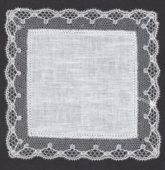 point ground lace