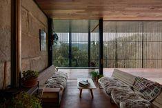 Sawmill House in Australia Incorporates 270 Reclaimed Concrete Blocks - http://freshome.com/sawmill-house-in-australia-incorporates-reclaimed-concrete-blocks/