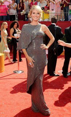 How to Wear It: Cape Dress - Heidi Klum