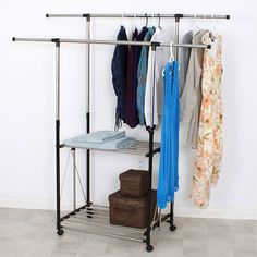 Greenway Home Products Collapsible Garment Rack