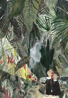 'The Ghosts in the Glasshouse'  http://teabelle.blogspot.co.uk/2014/02/the-ghost-in-glasshouse.html