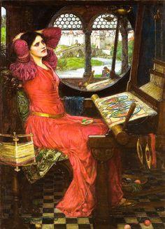 I am Half-Sick of Shadows said the Lady of Shalott (1916) John William Waterhouse