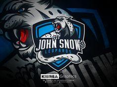 Snow Leopard esports logo by Kibrea Graphics Panther Logo, John Snow, Soccer Logo, Sports Team Logos, Game Logo Design, Esports Logo, E Sport, Mascot Design, Logo Sign