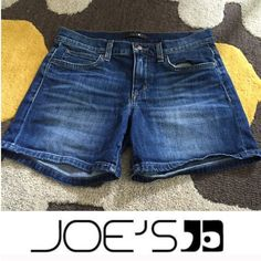 Joe's Jeans Melodie Jean Shorts Joe's Jeans Melodie Jean Shorts. 4.75 inch short. Rise is 8.5 inches (mid). Excellent condition. Size 26 which is a 2. Feel free to make an offer. Joe's Jeans Shorts Jean Shorts