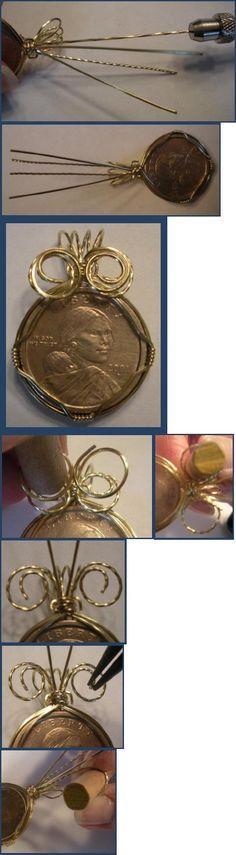 Cómo conectar Envuelva un colgante Tutorial Coin