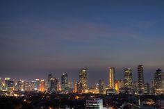 Sudirman - Thamrin Skyline. Jakarta, Indonesia