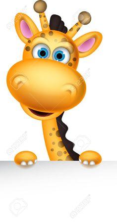 Cartoon Giraffe Cliparts, Stock Vector And Royalty Free Cartoon ... More