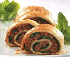 Bolognaise Pinwheel - I use it time and time again - alternative to spag bol.  Freezes OK too.