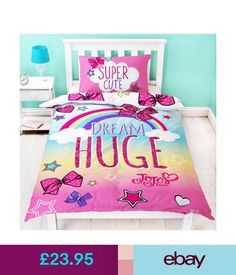 JoJo Siwa Bedding Coordinate Sets #ebay #Home & Garden