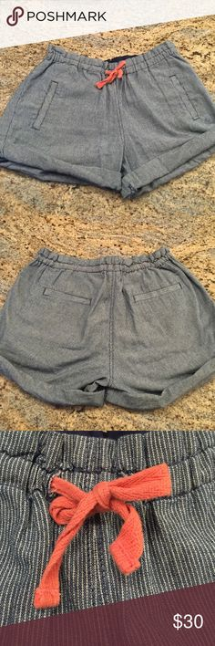 J Crew striped shorts Kids size 12 but equivalent to a size 0 adult!! J. Crew Shorts