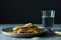 Menu Plan: Spicy, Peanutty Udon with Kale + Chinese Broccoli Salad with Sesame Sriracha Dressing on Food52