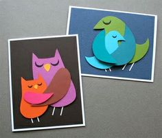 Momma Bird Mothers Day Card DIY tutorial
