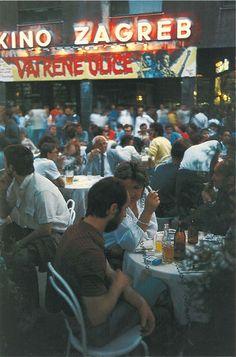 Zagreb - 1980-tih - Cvjetni trg - I.Eterović