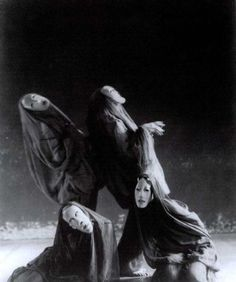 Scene from Mary Wigman's Totentanz,1926 by Ursula Richter
