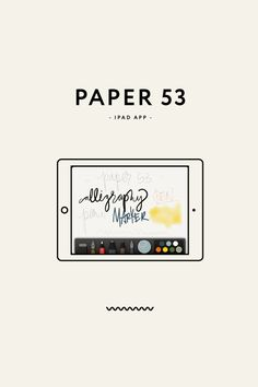 iPad App for jotting down ideas, writing in a journal, sketching ideas, drawings, details, etc. Resources - Paper 53   Eva Black Design