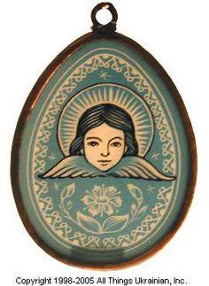 Stained glass Easter Egg Pysanky # UA05-2036 from Ukraine. http://www.allthingsukrainian.com