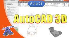 Curso de AutoCAD 3D - Aula 8 - Opções de Coordenadas e Vistas - Autocria...
