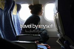 I actually enjoy it more that traveling with my mom if I were with my bff that would be another story