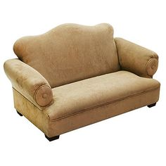 Komfy Kings Kids Little Queen Sofa - Tan Micro available in brown too $84.91