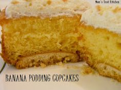 seriously?!  Banana Pudding Cupcakes!!  I gotta try these!