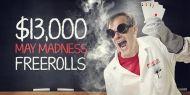 Poker Heaven - $13,000 Madness Freerolls - Kalipoker http://www.kalipoker.ro/promotii-poker/poker-heaven-13-000-madness-freerolls.html