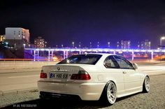 BMW E46 3 series white