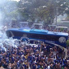 Recepção ao Cruzeiro no Mineirão em 2013