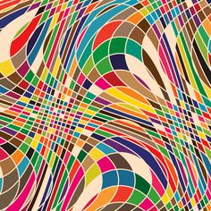 'Twisted Geometry' - Simon C Page  #colors #twisted #geometry