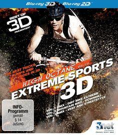 Best of 3D - High Octane: Vol. 1 - Vol. 3: Extreme Biking 3D 3D Blu-ray BMX - Mountain Bike Edizione: Germania: Amazon.it: -: Film e TV