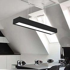 Wrought Iron Light, Pendant Lights Contemporary Contracted Style Ceiling 1  Light, Iron  aluminumacrylic – EUR € 132.99