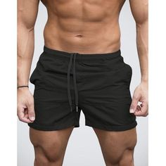 Stylish Men Shorts Bermuda Shorts Joggers Workouts Gyms Bodybuilding Drawstring Hombre Beach Sweatpants Masculina BoardShorts - Men's style, accessories, mens fashion trends 2020 Mens Gym Shorts, Sport Shorts, Swim Shorts, Bermuda Shorts, Mens Beach Pants, Color Shorts, Fitness Hose, Training Fitness, Fitness Pants