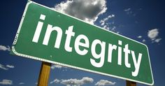 One of the most important qualities of people is integrity. But, what is integrity? Many people believe that integrity is doing the right thing. However, people who possess true integrity do the right things because that