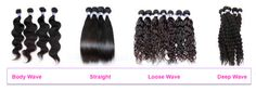 Texture Package - 6A Brazilian Hair (5pcs) (Fully Refundable) Types Of Hair Extensions, Loose Waves, Body Wave, Brazilian Hair, Texture, Surface Finish, Loose Waves Hair, Loose Curls, Soft Waves