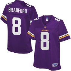 Sam Bradford Minnesota Vikings NFL Pro Line Women's Replica Jersey - Purple - $109.99