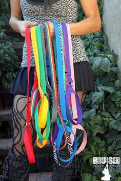 Purple noose  Roller Derby Skate Accessory by BruisedSkateNooses, $20.00