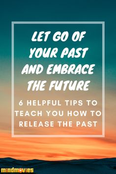 Letting go of the past is truly a pivotal step in turning the corner on a brand new you! It is an absolute fact that no one - absolutely no one - can change the past. There's no way to go back in time and try and undo what has already been done. Read more from our blog. New You, Self Improvement, Self Care, Read More, Personal Development, Letting Go, Turning, Helpful Hints, The Past