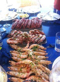 #mariscada #events #casament #bodas #fiestas #festes #lescora #xiringuito #chiringuito #basenauticapineda #pinedademar #platja #playa #beach #mojitos #food #menjar #chillout #relax