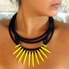 www.nangara.com.br #nangara #handmade #design #fashion #colares #neckpiece #feitoamão #ecofriendly #ecochic
