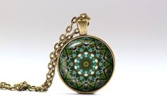 Mandala Jewelry by MaryClaires on Etsy