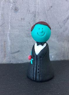 Fondant, Figurine, Wedding, Gum Paste, Candy