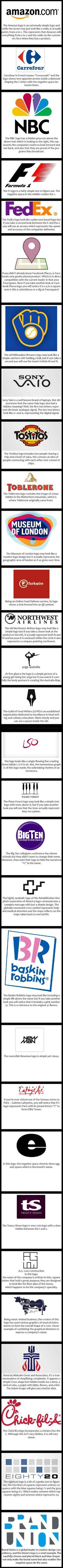 Logos logos and more logos.