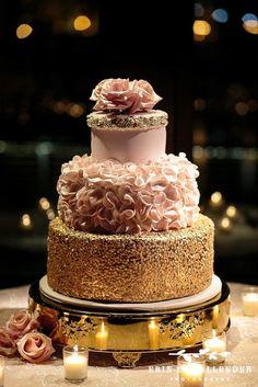 glam rose gold new years eve wedding by enchanted florist tn www.enchantedfloristtn.com Planning by @FeteNashville