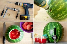 Awesome Watermelon Beverage Keg