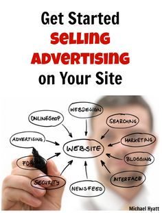 How to get started selling advertising on your website or blog. http://michaelhyatt.com/sell-blog-advertising.html